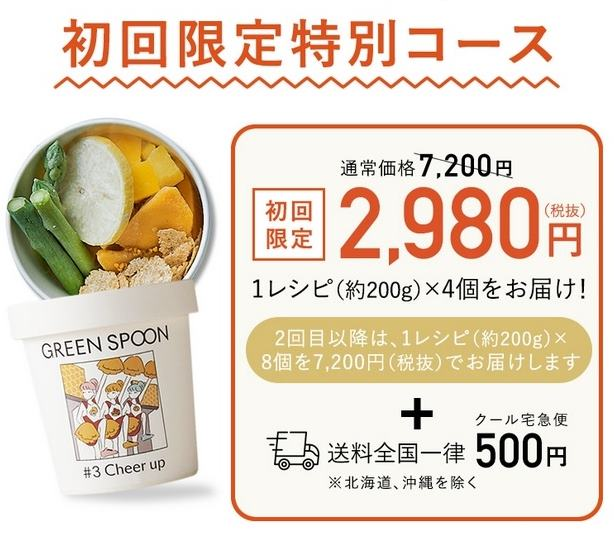 green spoonスムージー